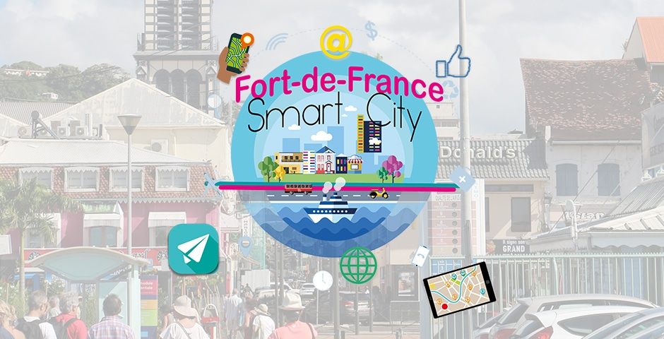 Fort-de-France Smart City : La Ville et Orange s'engagent!